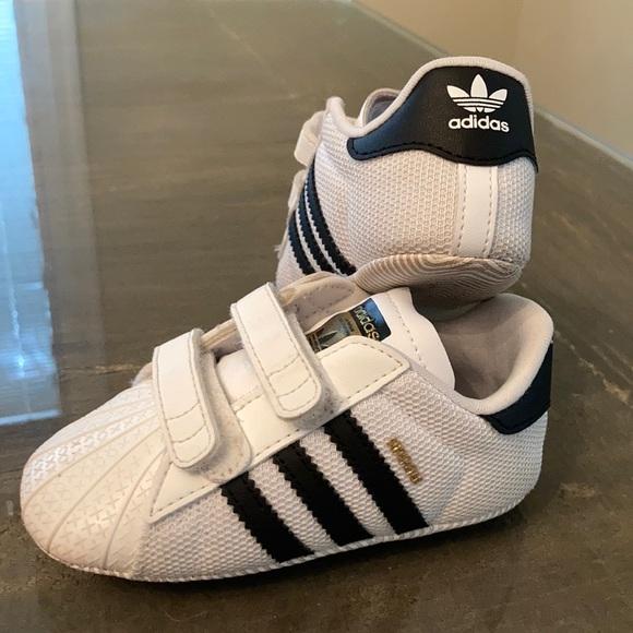 Adidas Superstar Crib Shoes!